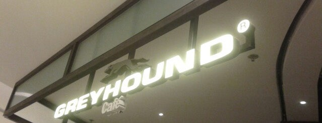 Greyhound Café is one of Lieux sauvegardés par Edward.