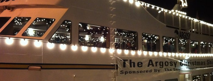 Argosy Christmas Ship Festival is one of Reasons to Love Winter Dec 2011.
