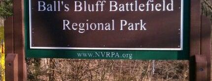 Ball's Bluff Battlefield Regional Park is one of Jana 님이 좋아한 장소.