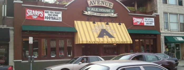 Avenue Ale House and Rooftop Cafe is one of Favorites!. :).