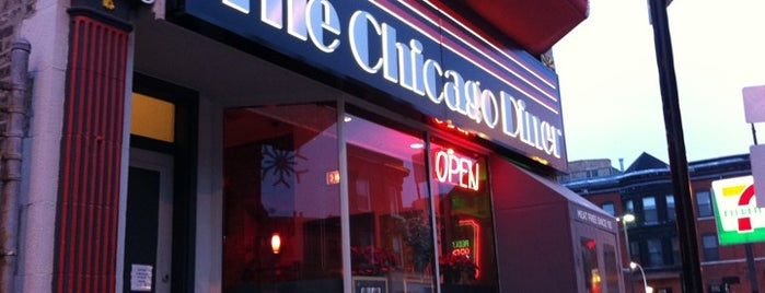 Chicago Diner is one of Posti che sono piaciuti a Shalimar.
