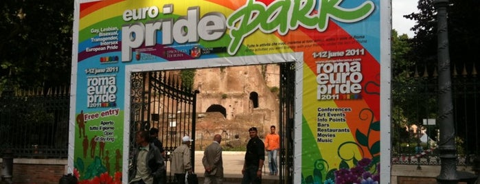 Europride Park is one of Roma LGBT.