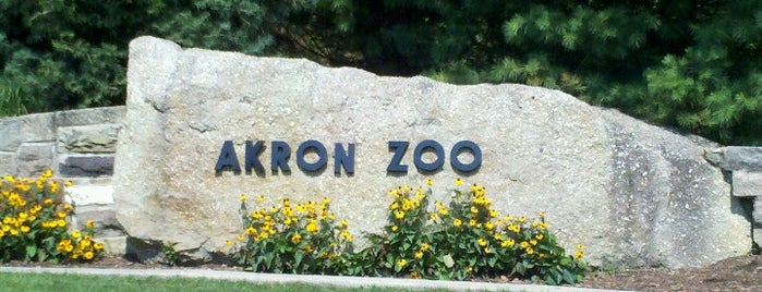 Akron Zoo is one of Awesome Akron.