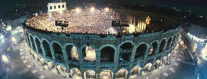 Arena di Verona is one of Favourites.