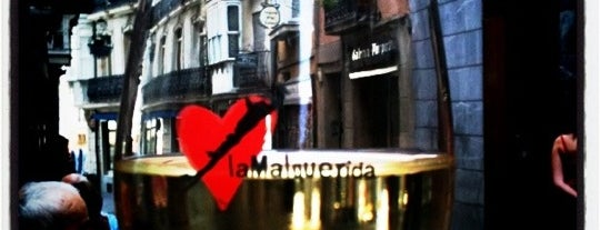 La Malquerida is one of Pintxos y Tapas en Vitoria-Gasteiz.