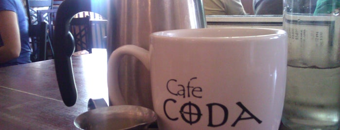 Cafe Coda is one of Orte, die Maya gefallen.