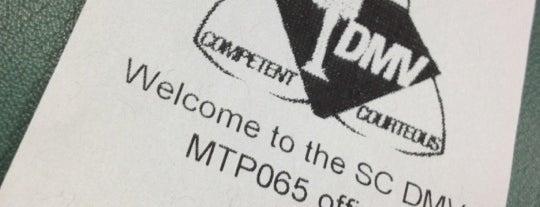 South Carolina DMV is one of Midgets, Zombies & Aliens.
