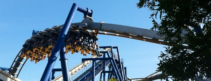 Carowinds is one of Charlotte Favorites.