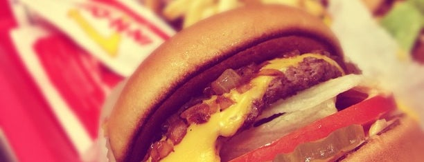 In-N-Out Burger is one of favs around Bay Area.