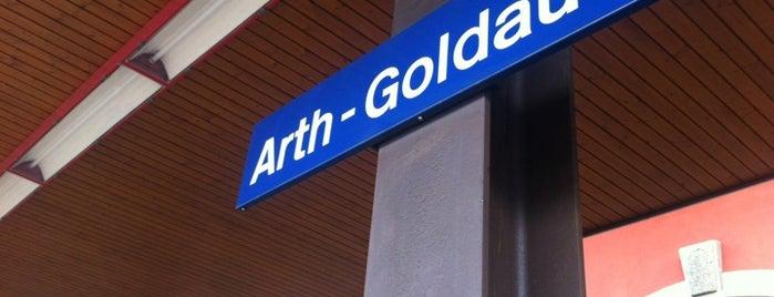 Bahnhof Arth-Goldau is one of schon gemacht 2.
