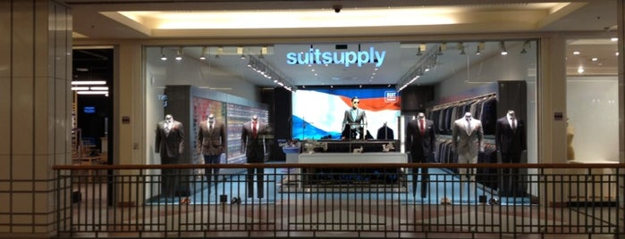 Suit Supply is one of Kevin'in Beğendiği Mekanlar.