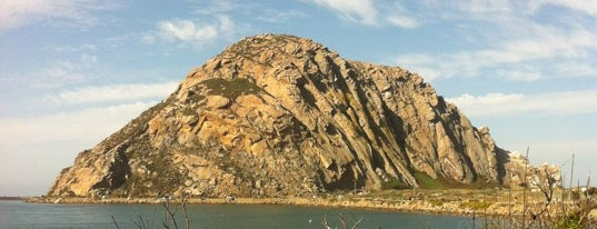 Morro Rock State Natural Preserve (Morro Rock) is one of Locais curtidos por Matthew.
