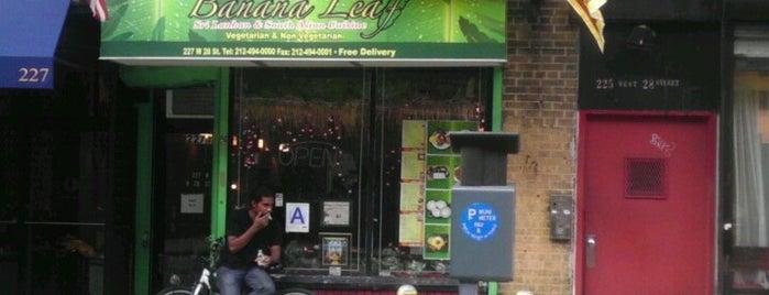 Banana Leaf is one of Flatiron/Chelsea.