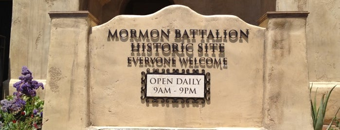 Mormon Battalion Historic Site is one of San Diego Point of Interest.