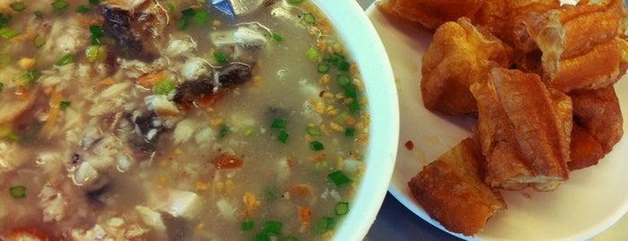 阿堂鹹粥 is one of Tainan.