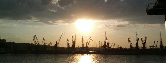 Одесский морской торговый порт is one of Одесса.