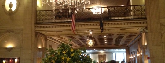 The Roosevelt Hotel is one of NYC.