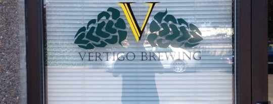 Vertigo Brewing Tap Room is one of Oregon Brewpubs.