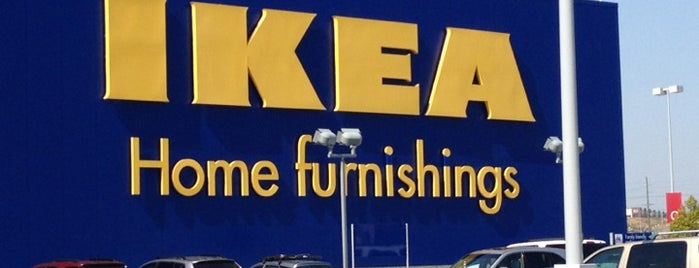 IKEA is one of Lieux qui ont plu à Cezary.