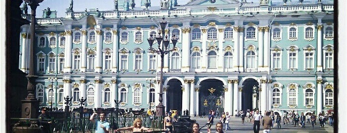 Hermitage Museum is one of Must visit in spb.