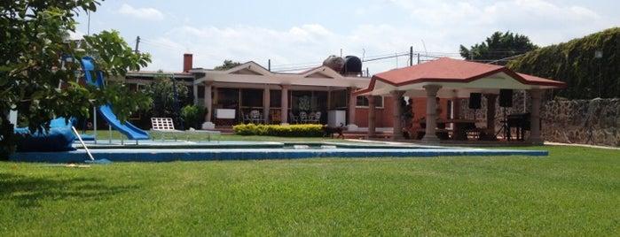 Vergeles De Oaxtepec A.C. is one of Tempat yang Disukai Moisés.