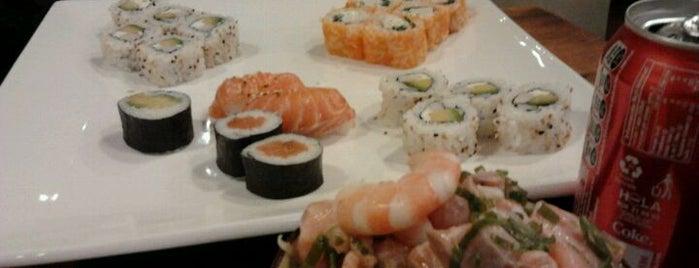 Puerto Sushi is one of 20 favorite restaurants.
