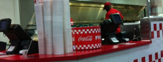 Five Guys is one of The best of the Eatontown area.