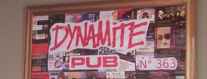 Dynamite Pub is one of places.