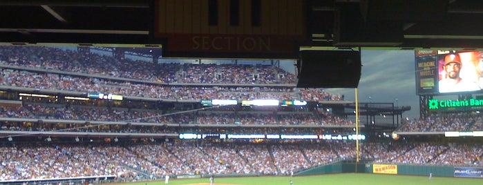 Citizens Bank Park is one of MLB Stadium Quest.