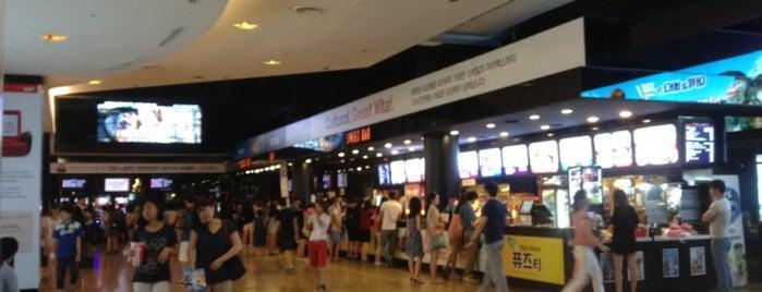 CGV Incheon is one of Meri : понравившиеся места.