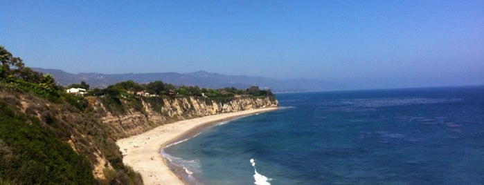Point Dume State Beach is one of Cali.