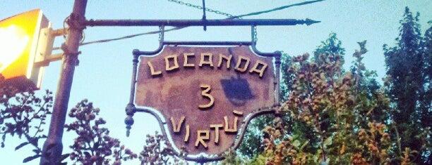 Locanda Le Tre Virtù is one of Via degli Dei.