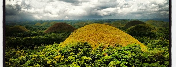 The Chocolate Hills is one of wonders of the world.