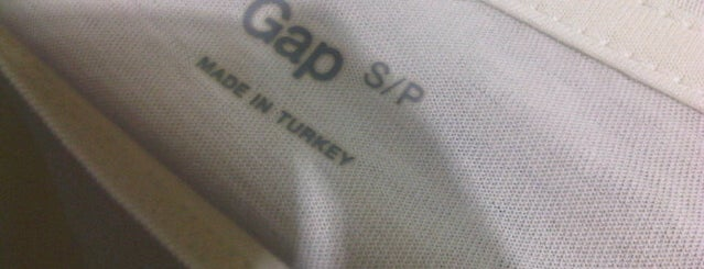GAP is one of Orte, die Paul gefallen.