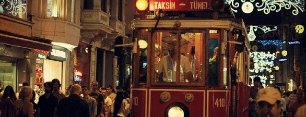 İstiklal Caddesi is one of Istanbul City Guide.