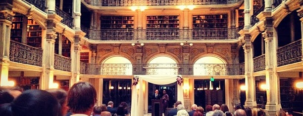 George Peabody Library is one of Books everywhere I..