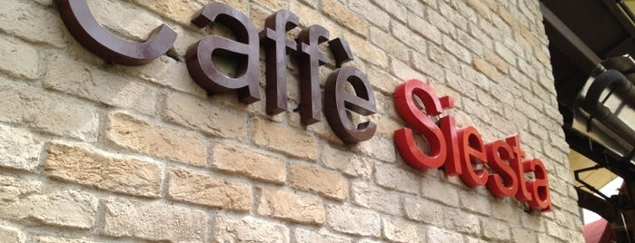 Caffé Siesta is one of Ordan burdan.