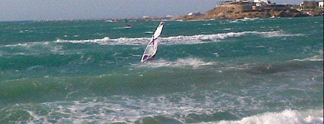 Flisvos Sport Club Naxos is one of #myhints4Windsurfing.