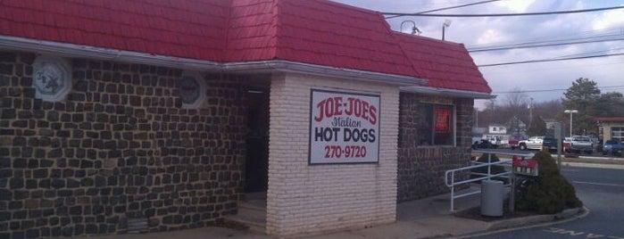 Joe Joe's Italian Hot Dogs is one of INSAHD! Been There, Done That (NJ).