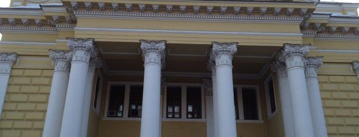 Московская хоральная синагога is one of 100 примечательных зданий Москвы.