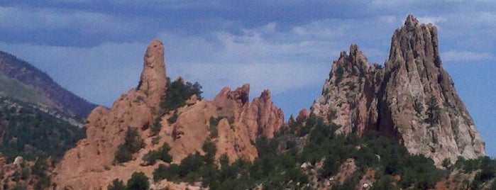 Garden of the Gods is one of Colorado Tourism.