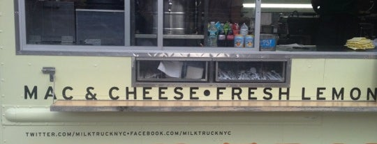Milk Truck Grilled Cheese is one of New York Eatables.