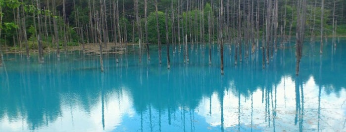Blue Pond is one of if you're ever in ____.