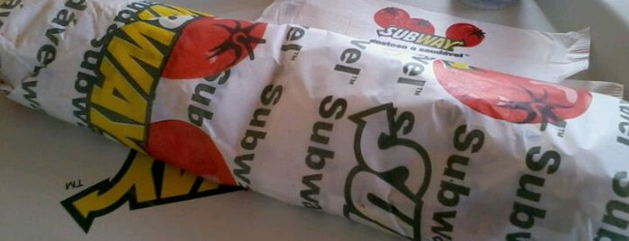 Subway is one of Pra matar a fome.
