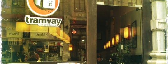 Tramvay Cafe & Restaurant is one of Lugares favoritos de Elif.