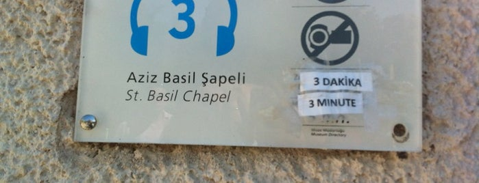 Azize Barbara Sapeli is one of Kapadokya.