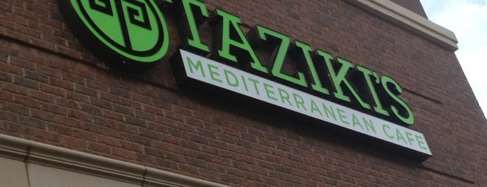 Taziki's Mediterranean Cafe is one of Dan: сохраненные места.