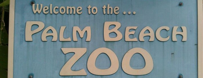 Palm Beach Zoo is one of Life's a Zoo.