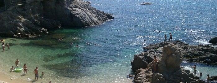 Cala de Roques Planes is one of Playas de España: Cataluña.