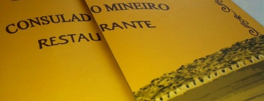 Consulado Mineiro is one of Restaurants.
